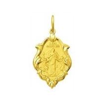 Medalha 1,5cm Nossa Senhora Desatadora Dos Nos Ouro 18k
