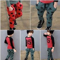 Pantalones Pans De Algodon Niño Estilo Y Moda Japonesa