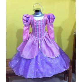 Vestido Disfraz De Princesa Ariel. La Sirenita.