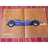 Poster De Auto De Carrera Berta Lr-v8 Corsa