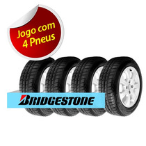 Kit 4 Pneu Aro 14 Bridgestone 175/65r14 Seiberling 500 82s
