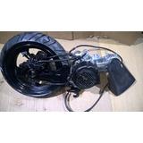 Motor Moto Scooter 200 Gy6 Rin Trasero Sistema Freno D Disco