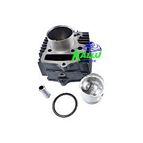 Kit Cilindro,pistao,anéis Cbx Strada,nx, Xr 200 Metal Leve