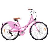 Bicicleta Passeio Urbana Mobele Vintage Oma A 7v Shimano
