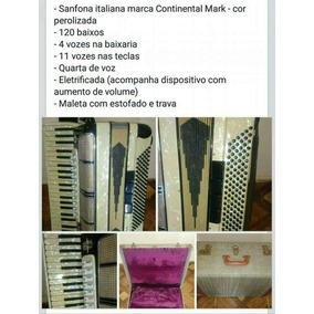 Sanfona Italiana - 120 Baixos - Quarta De Voz