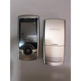 Carcaca / Painel Celular Samsung U600 Prata