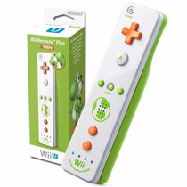 Wii Remote Plus Yoshi Edition Para Nintendo Wii U / Wii