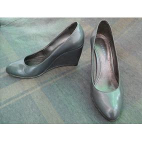 Zapatos Grises Acharolados Marca Sarkany T39