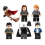 Set Harry Potter Ron Hermione Voldemort Compatible Con Lego