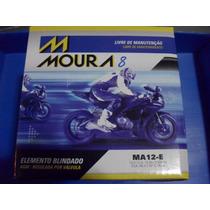 Bateria Moto Moura Ytx14-bs Yuasa Ma12-e 12ah V-strom 1000