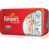 Oferta 2 Hiperpacks Pampers Babysan Supersec Talles G Xg Xxg
