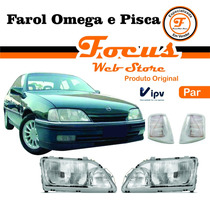 Farol Omega 93 94 95 96 97 98 Original Ipv Nbs Duplo Par