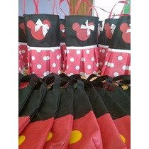 Bolsitas Golosineras De Minnie Y Mickey!!!