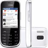 Celular Nokia Dual Chip Asha 202 Desbloqueado Vitrine Branco