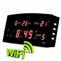 Relogio De Mesa Espiao Wifi Camera Ip Escondida Grava 14dias