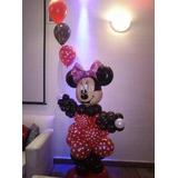 Muñeco Mickey Minnie En Globos