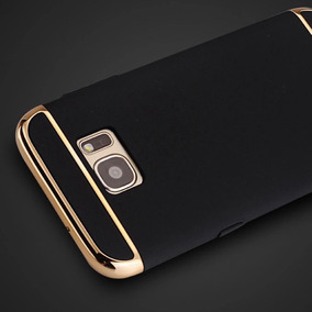 Combo 2 Case Lujo Galaxy S7 Edge+film Protector Pantalla Tpu