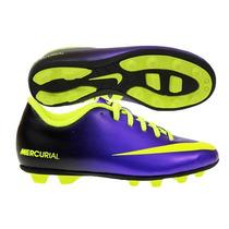 Nike Jr Mercurial Vortex Tacos Futbol Infantiles 18 Mex