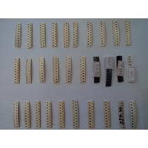 Kit Componentes Eletrônicos 30 Tipos Smd, Somando 300 Peças.