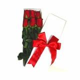 Caja De 6 Rosas Importadas +caja Chocolates