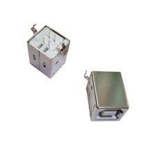 Conector Usb Tipo B Hembra Montaje Perpendicular 10 Piezas