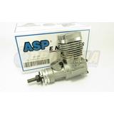 Motor Glow Asp 25 S25a Aeromodelo Combustão - Pronta Entrega