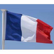 Bandera De Francia, Europa Y El Mundo. 150x90cm