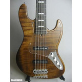 Pickguard Para Jazz Bass Transparente Marca Deybeat Customs