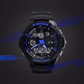Reloj De Hombre Quartz Sport Digital Y Analogo Tipo Militar