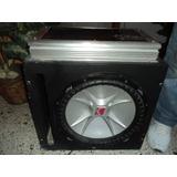 Bajo Cvx 15 Con Planta Lanzar Vibe 1800watts Monoblock