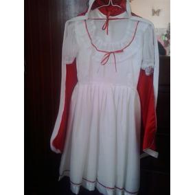 Vestido De Reina De Carnaval, Disfraz Para Niña