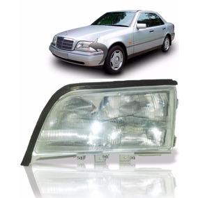 Farol Mercedes C180 C180 C220 Lado Esquerdo 1994 1995 1996
