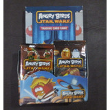 Cartas Trading Card Angry Birds Star Wars Caja Por 36 Sobres