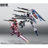 Gundam Freedom + Justice Robot Spirits - Bandai Envio Gratis