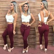 6 Calças Jeans Coloridas R$ 270,00