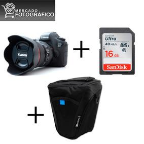 Canon 6d [ Kit 24-105 ] [ 1 Ano De Garantia ][+brindes]