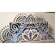 Celosías Decorativas De Mdf 18mm. Tipo Mandalas