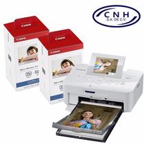 Impresora Selphy Cp1200 Canon Y 2 Kit De Impresión 108h C/u