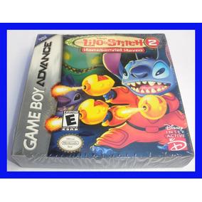 Lilo Stitch 2 Game Boy Advance Gba Lacrado Mario Disney