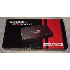 Amplificador Crunch Gtr3000.1 Clase D, Canal Mono Ac3000.1d