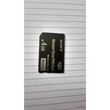 Memoria -memory Stick Pro Duo 4gb