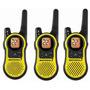 3 Radios Comunicadores Motorola Talkabout Mh230 37km Novo