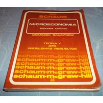 Librcrd Microeconomía, De D. Salvatore (1983) Serie Schaum
