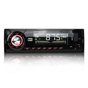 Autoestereo Mp3 Usb Sd Aux Radio Fm Digital Lcd 7w Control