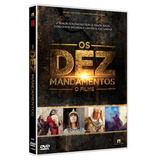 Dvd Os Dez Mandamentos O Filme - Record - Original