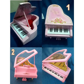 Caja Musical En Forma De Piano Alhajero Alajero Envio Gratis