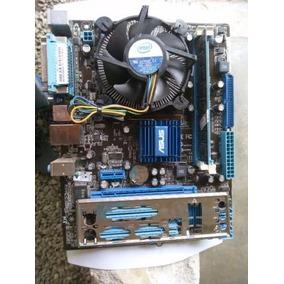 Kit Placa Mãe Asus P5g41t-m Lx2/br Proc Dual Core E5700 2gb