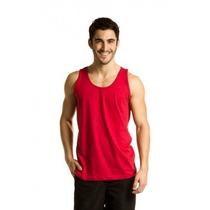 Kit 5 Camisetas Regata Masculina 100% Algodão