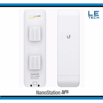 Nanostation M5 Ubiquiti Ap Cliente Wireless Ethernet X2 Cpe
