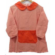 [ Pintorcito De Jardin ] Cuello Redondo Naranja